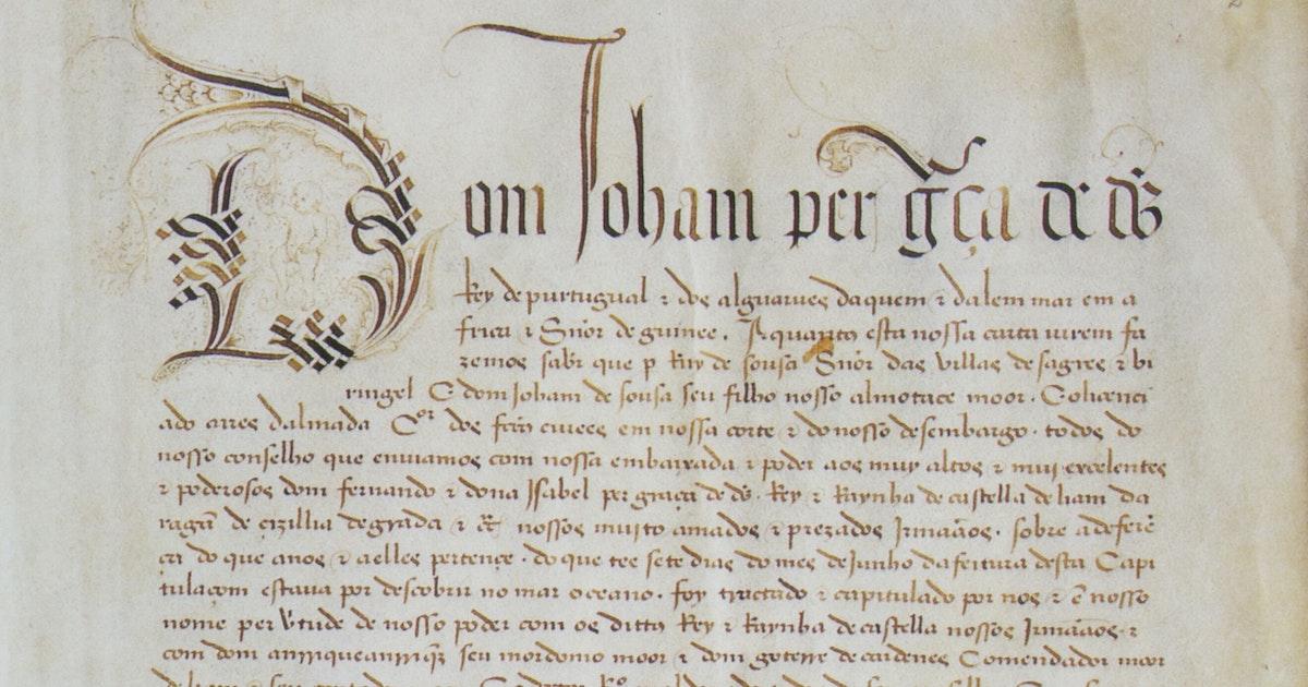 Zaterdag in Eos Insider: Het Verdrag van Tordesillas uit 1494 herbekeken - Eos Wetenschap