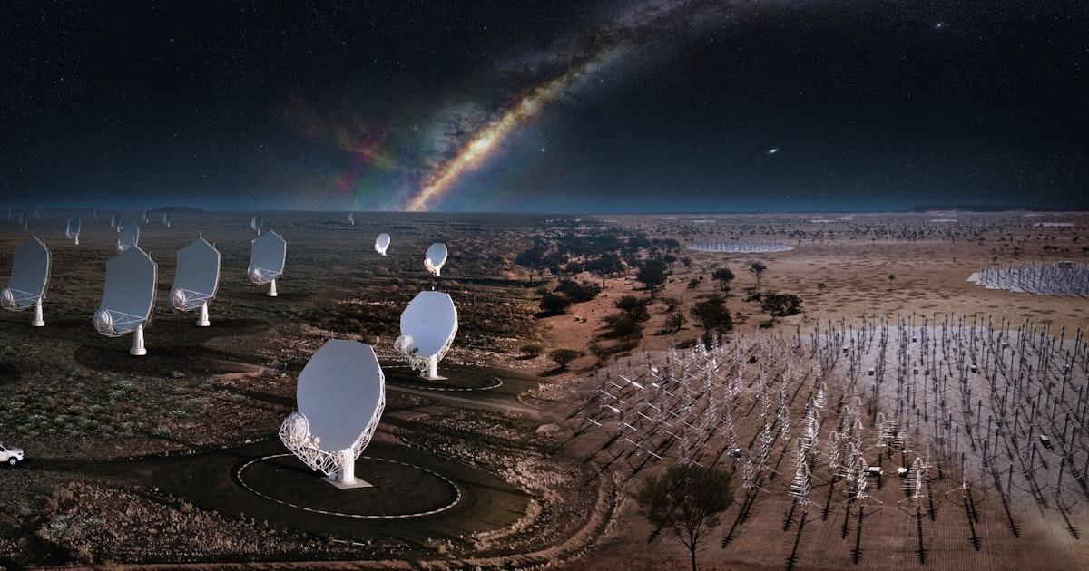 Mijlpaal in de sterrenkunde: bouw grootste radiotelescoop gaat van start - Eos Wetenschap