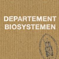 Departement Biosystemen KU Leuven