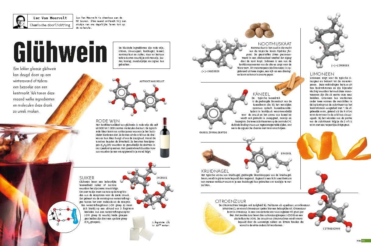 De Chemie Van Glühwein Eos Wetenschap